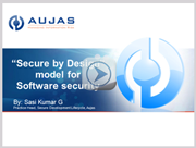 """""""Secure By Design"""" Model For Software Security"""