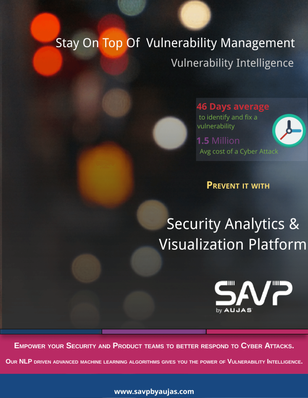 Vulnerability Intelligence by SAVPbyAujas